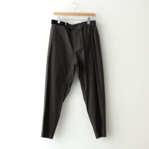 Graphpaper | グラフペーパー [ STRETCH TYPEWRITER CHEF PANTS #GRAY [GM211-40619B] ]