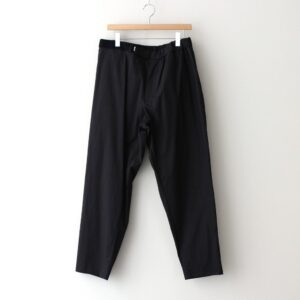 Graphpaper | グラフペーパー [ STRETCH TYPEWRITER CHEF PANTS #BLACK [GM211-40619B] ]