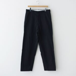 YAECA | ヤエカ [ CHINO CLOTH PANTS WIDE TAPERED #NAVY [11612] ]